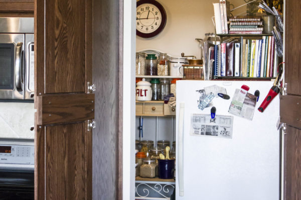cabinet walk in pantry